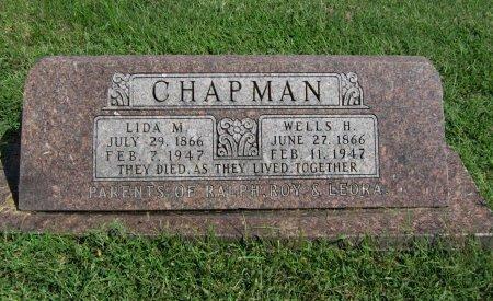 CHAPMAN, WELLS HENRY - Cowley County, Kansas | WELLS HENRY CHAPMAN - Kansas Gravestone Photos