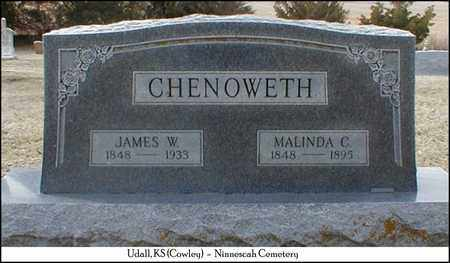 CHENOWETH, JAMES WILLIAM  (VETERAN UNION) - Cowley County, Kansas | JAMES WILLIAM  (VETERAN UNION) CHENOWETH - Kansas Gravestone Photos