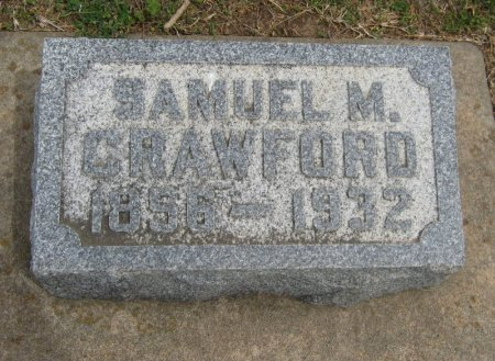 CRAWFORD, SAMUEL MILLER - Cowley County, Kansas   SAMUEL MILLER CRAWFORD - Kansas Gravestone Photos