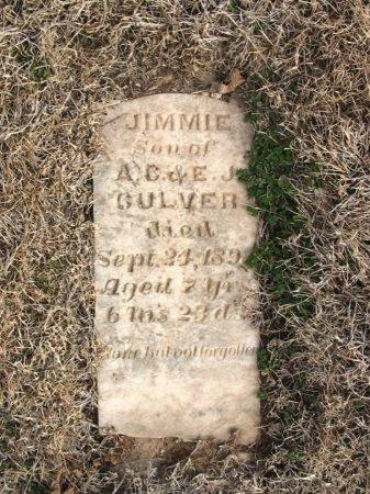 CULVER, JIMMIE - Cowley County, Kansas | JIMMIE CULVER - Kansas Gravestone Photos