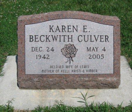 CULVER, KAREN E - Cowley County, Kansas   KAREN E CULVER - Kansas Gravestone Photos
