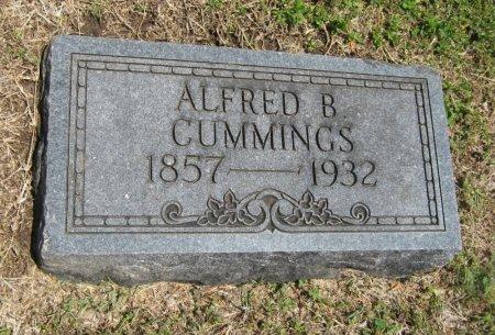 CUMMINGS, ALFRED BUTLER - Cowley County, Kansas | ALFRED BUTLER CUMMINGS - Kansas Gravestone Photos