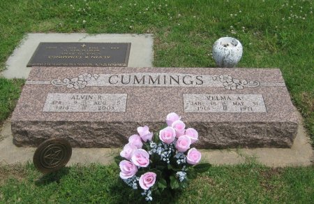 CUMMINGS, VELMA A - Cowley County, Kansas | VELMA A CUMMINGS - Kansas Gravestone Photos