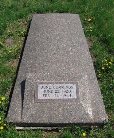 "CUMMINGS, DOLLIE ""JUNE "" - Cowley County, Kansas   DOLLIE ""JUNE "" CUMMINGS - Kansas Gravestone Photos"
