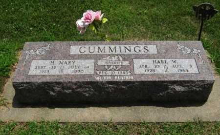 CUMMINGS, HARL W - Cowley County, Kansas | HARL W CUMMINGS - Kansas Gravestone Photos