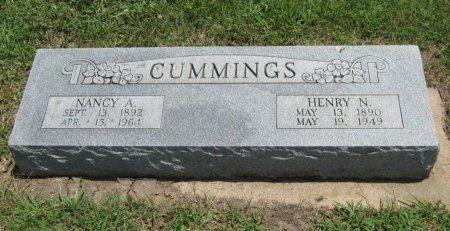 CUMMINGS, HENRY N - Cowley County, Kansas | HENRY N CUMMINGS - Kansas Gravestone Photos