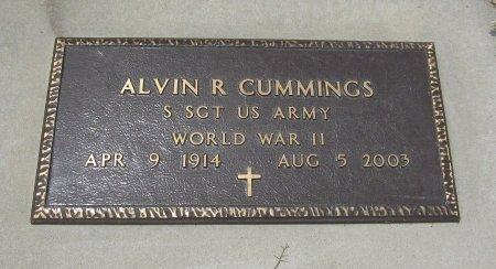 CUMMINGS, ALVIN R (VETERAN WWII) - Cowley County, Kansas   ALVIN R (VETERAN WWII) CUMMINGS - Kansas Gravestone Photos