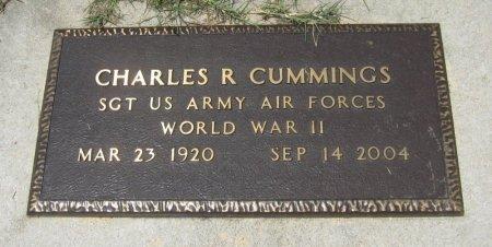 CUMMINGS, CHARLES R (VETERAN WWII) - Cowley County, Kansas   CHARLES R (VETERAN WWII) CUMMINGS - Kansas Gravestone Photos