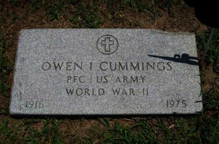 CUMMINGS, OWEN I (VETERAN WWII) - Cowley County, Kansas   OWEN I (VETERAN WWII) CUMMINGS - Kansas Gravestone Photos