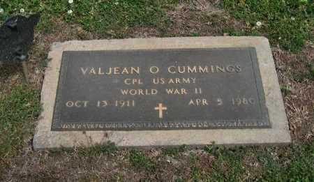 CUMMINGS, VALJEAN O (VETERAN WWII) - Cowley County, Kansas | VALJEAN O (VETERAN WWII) CUMMINGS - Kansas Gravestone Photos