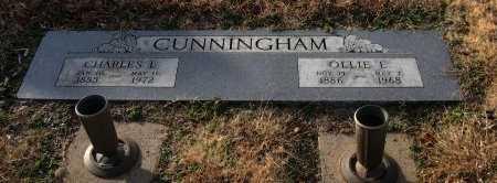 CUNNINGHAM, OLLIE ETHEL - Cowley County, Kansas | OLLIE ETHEL CUNNINGHAM - Kansas Gravestone Photos