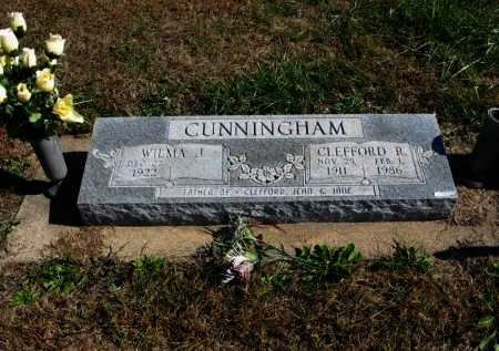 CUNNINGHAM, CLEFFORD RUSSELL - Cowley County, Kansas | CLEFFORD RUSSELL CUNNINGHAM - Kansas Gravestone Photos