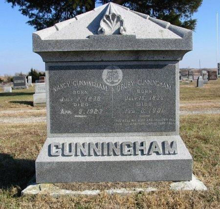 "CUNNINGHAM, DRURY ""DOC"" - Cowley County, Kansas   DRURY ""DOC"" CUNNINGHAM - Kansas Gravestone Photos"