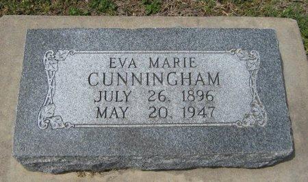 CUNNINGHAM, EVA MARIE - Cowley County, Kansas   EVA MARIE CUNNINGHAM - Kansas Gravestone Photos
