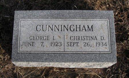 CUNNINGHAM, CHRISTINA D - Cowley County, Kansas | CHRISTINA D CUNNINGHAM - Kansas Gravestone Photos