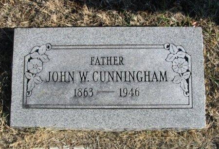 CUNNINGHAM, JOHN WILLIAM - Cowley County, Kansas | JOHN WILLIAM CUNNINGHAM - Kansas Gravestone Photos