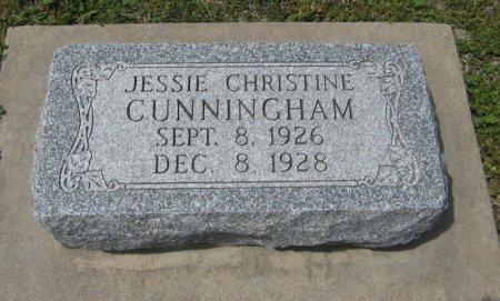 CUNNINGHAM, JESSIE CHRISTINE - Cowley County, Kansas   JESSIE CHRISTINE CUNNINGHAM - Kansas Gravestone Photos