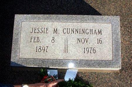 CUNNINGHAM, JESSIE MILDRED - Cowley County, Kansas   JESSIE MILDRED CUNNINGHAM - Kansas Gravestone Photos