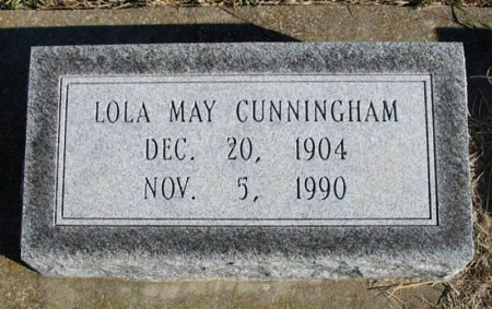 CUNNINGHAM, LOLLA MAY - Cowley County, Kansas | LOLLA MAY CUNNINGHAM - Kansas Gravestone Photos