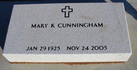 CUNNINGHAM, MARY KATHERINE - Cowley County, Kansas   MARY KATHERINE CUNNINGHAM - Kansas Gravestone Photos