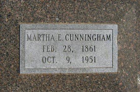 CUNNINGHAM, MARTHA ELIZABETH - Cowley County, Kansas   MARTHA ELIZABETH CUNNINGHAM - Kansas Gravestone Photos