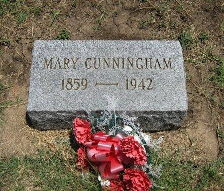 CUNNINGHAM, MARY - Cowley County, Kansas | MARY CUNNINGHAM - Kansas Gravestone Photos