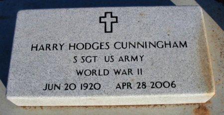 CUNNINGHAM, HARRY HODGES (VETERAN WWII) - Cowley County, Kansas | HARRY HODGES (VETERAN WWII) CUNNINGHAM - Kansas Gravestone Photos