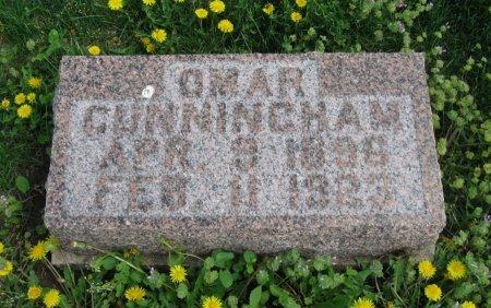CUNNINGHAM, OMAR - Cowley County, Kansas   OMAR CUNNINGHAM - Kansas Gravestone Photos