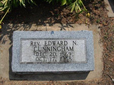 CUNNINGHAM, EDWARD NORMAN, REV - Cowley County, Kansas | EDWARD NORMAN, REV CUNNINGHAM - Kansas Gravestone Photos
