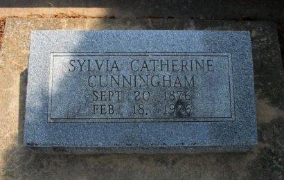 CUNNINGHAM, SYLVIA CATHERINE - Cowley County, Kansas   SYLVIA CATHERINE CUNNINGHAM - Kansas Gravestone Photos