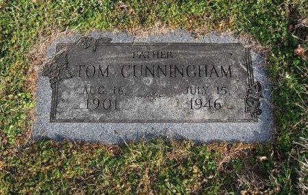 CUNNINGHAM, TOM - Cowley County, Kansas   TOM CUNNINGHAM - Kansas Gravestone Photos