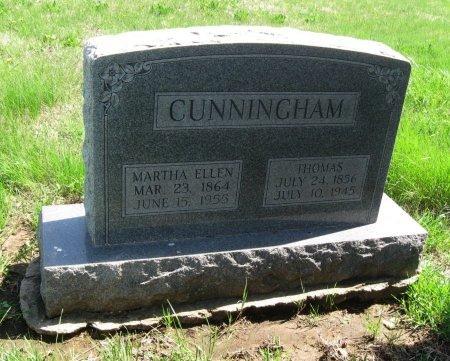 CUNNINGHAM, THOMAS - Cowley County, Kansas   THOMAS CUNNINGHAM - Kansas Gravestone Photos