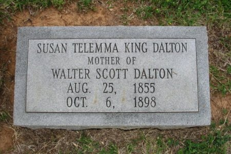 DALTON, SUSAN TELEMMA - Cowley County, Kansas | SUSAN TELEMMA DALTON - Kansas Gravestone Photos
