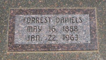 DANIELS, FORREST - Cowley County, Kansas | FORREST DANIELS - Kansas Gravestone Photos