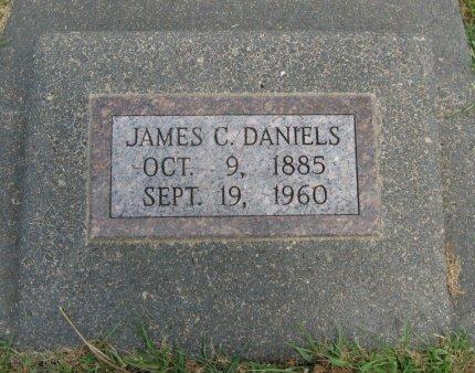 DANIELS, JAMES C - Cowley County, Kansas | JAMES C DANIELS - Kansas Gravestone Photos