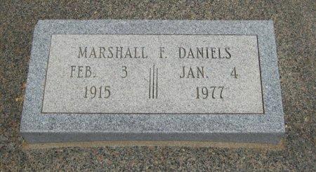 DANIELS, MARSHALL F - Cowley County, Kansas   MARSHALL F DANIELS - Kansas Gravestone Photos