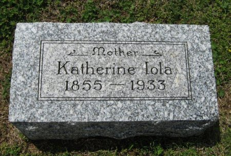 DAUTSCHMANN, KATHERINE LOLA - Cowley County, Kansas   KATHERINE LOLA DAUTSCHMANN - Kansas Gravestone Photos