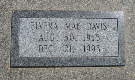 DAVIS, ELVERA MAE - Cowley County, Kansas | ELVERA MAE DAVIS - Kansas Gravestone Photos
