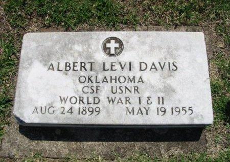 DAVIS, ALBERT LEVI (VETERAN 2 WARS) - Cowley County, Kansas | ALBERT LEVI (VETERAN 2 WARS) DAVIS - Kansas Gravestone Photos