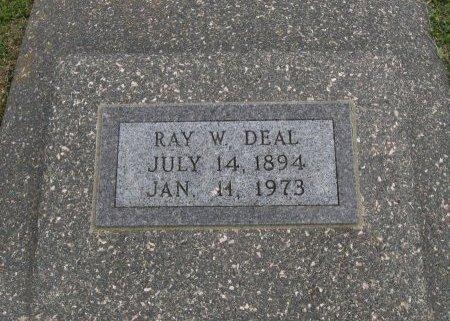 DEAL, RAY WASHINGTON - Cowley County, Kansas   RAY WASHINGTON DEAL - Kansas Gravestone Photos