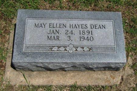 HAYES DEAN, MAY ELLEN - Cowley County, Kansas | MAY ELLEN HAYES DEAN - Kansas Gravestone Photos