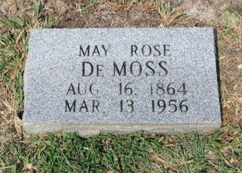 DEMOSS, MAY ROSETTA - Cowley County, Kansas | MAY ROSETTA DEMOSS - Kansas Gravestone Photos