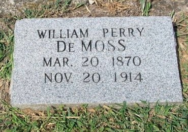 DEMOSS, WILLIAM PERRY - Cowley County, Kansas | WILLIAM PERRY DEMOSS - Kansas Gravestone Photos