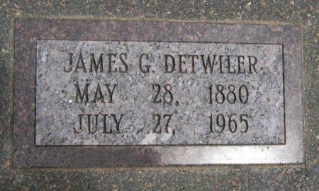 DETWILER, JAMES GARFIELD - Cowley County, Kansas   JAMES GARFIELD DETWILER - Kansas Gravestone Photos