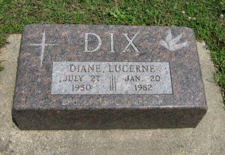 DIX, DIANE LUCERNE - Cowley County, Kansas   DIANE LUCERNE DIX - Kansas Gravestone Photos