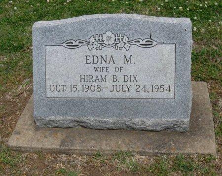 DIX, EDNA MARGARET - Cowley County, Kansas   EDNA MARGARET DIX - Kansas Gravestone Photos