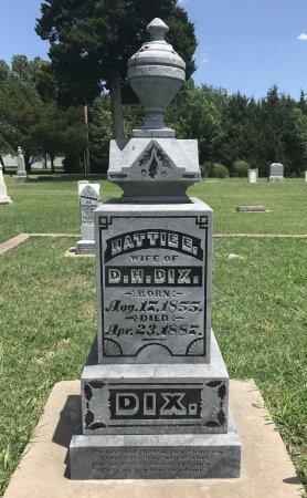 DIX, HATTIE E - Cowley County, Kansas   HATTIE E DIX - Kansas Gravestone Photos