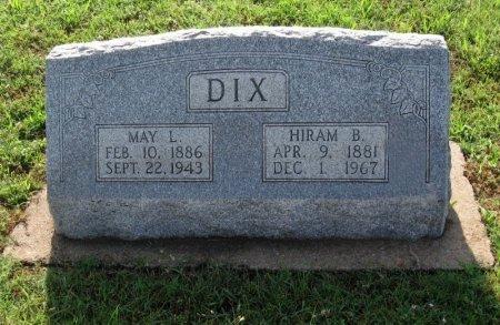 DIX, MAY LILLIAN - Cowley County, Kansas | MAY LILLIAN DIX - Kansas Gravestone Photos
