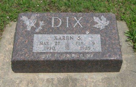 DIX, KAREN S - Cowley County, Kansas | KAREN S DIX - Kansas Gravestone Photos