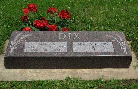 DIX, CARLE A (VETERAN WWII) - Cowley County, Kansas | CARLE A (VETERAN WWII) DIX - Kansas Gravestone Photos